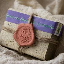 Săpun natural cu argilă şi lavandă, 130g | Herbaris