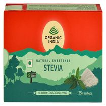 Stevia 25 plicuri | Hipocaloric & Fara Zahar | Organic India