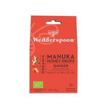 Bomboane (dropsuri) ecologice cu Miere de Manuka, Ghimbir si Echinacea 120g | Wedderspoon