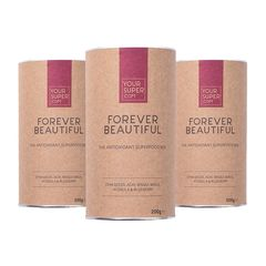 Pachet 3x FOREVER BEAUTIFUL Organic Superfood Mix, 200g | Your Super