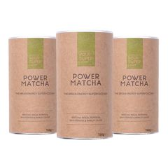 Pachet Cură Completă POWER MATCHA Organic Superfood Mix, 3x 150g | Your Super