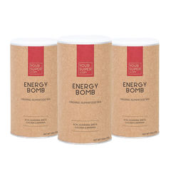 Pachet 3x ENERGY BOMB Organic Superfood Mix, 200g | Your Super