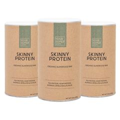 Pachet Cură Completă SKINNY PROTEIN Organic Superfood Mix, 3x 400g | Your Super