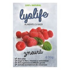 Zmeură - Fructe Liofilizate, 30g | LyoLife
